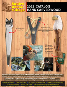 Carved Wood Catalog