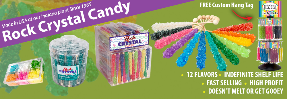 Rock Crystal Candy - Squire Boone Village