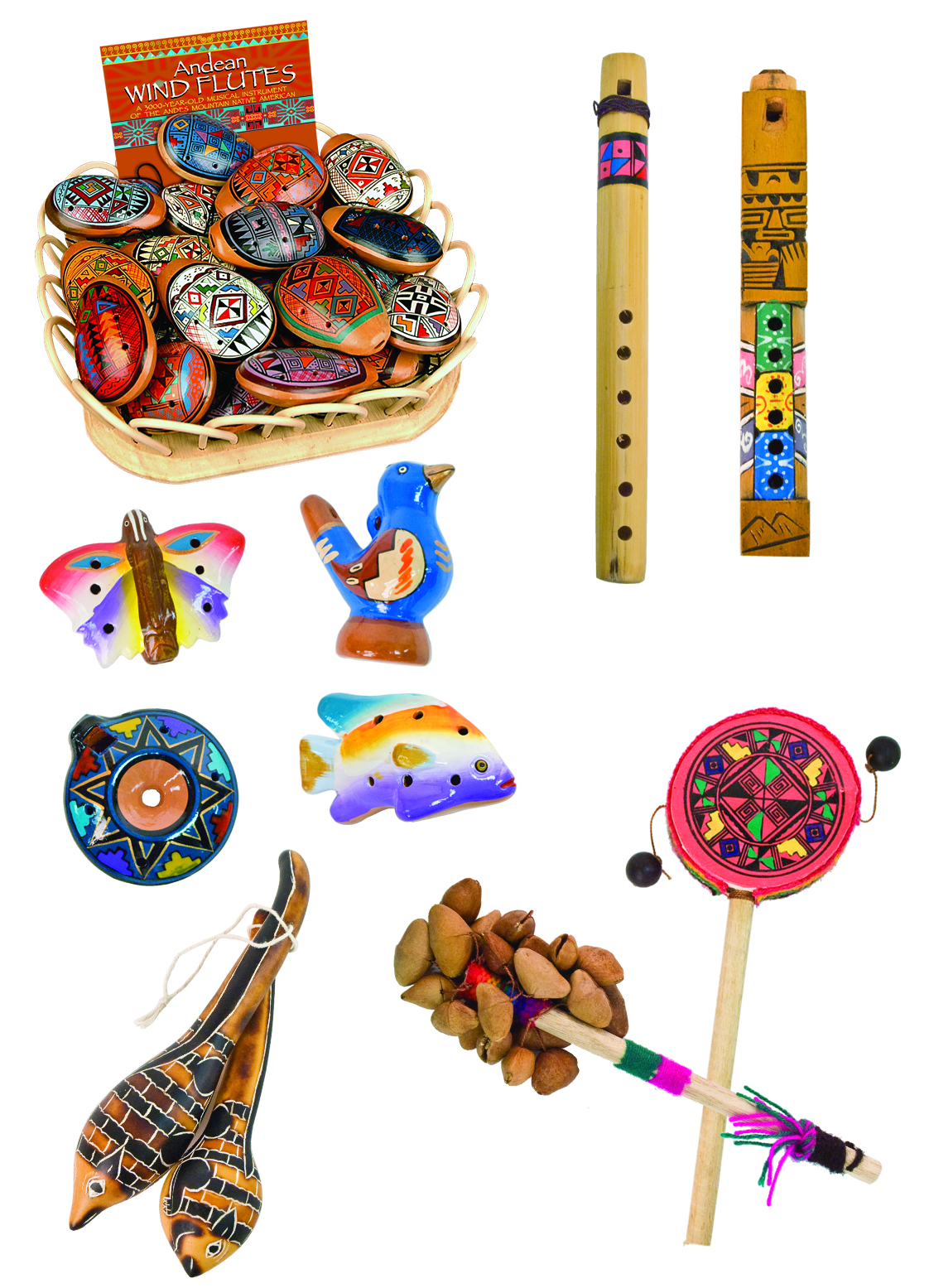 Andean Musical Instruments Ad