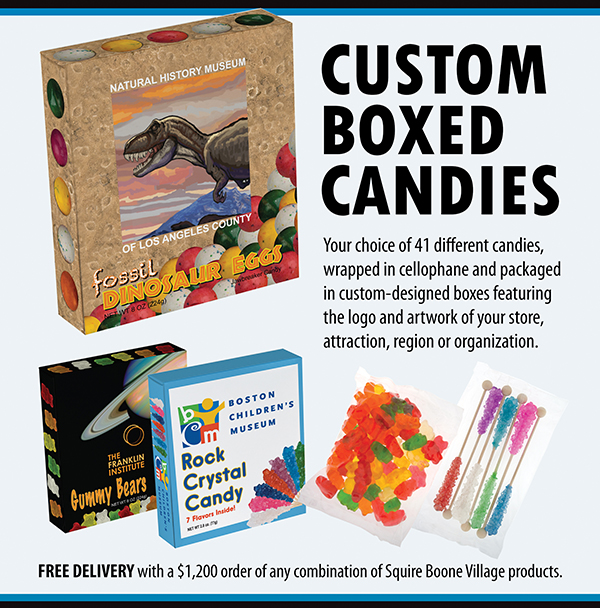 Custom Box Candies Ad