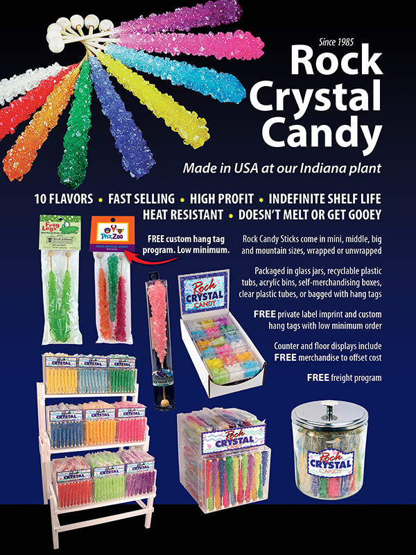 Rock Crystal Candy Ad