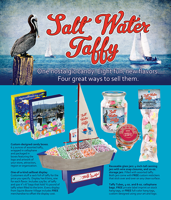 Salt Water Taffy Ad