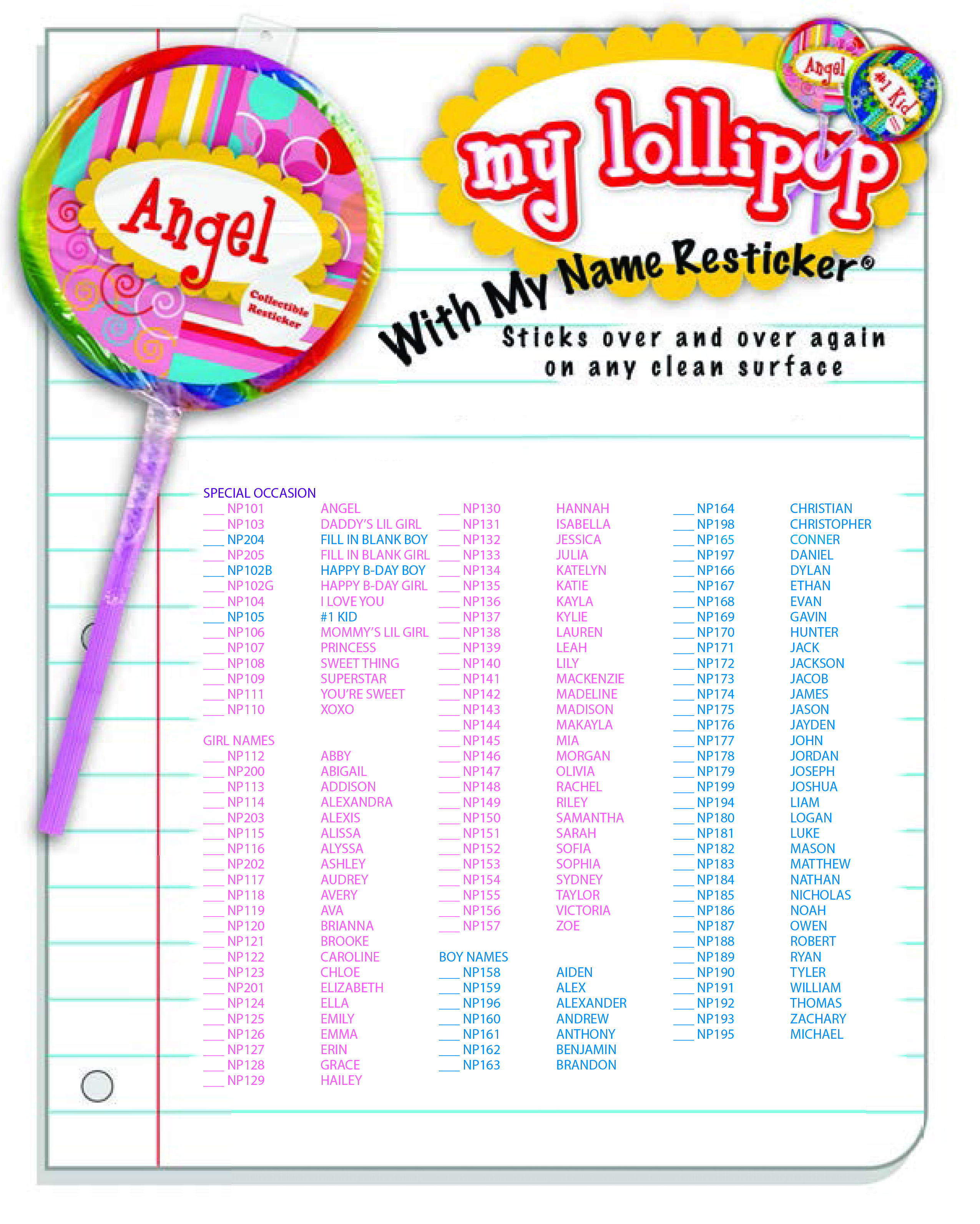 Emoji Restickers Lollipops Ad