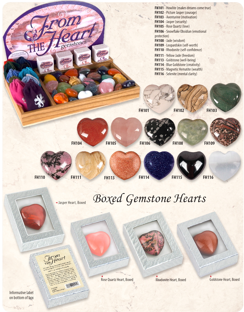 From the Heart Gemstones Ad