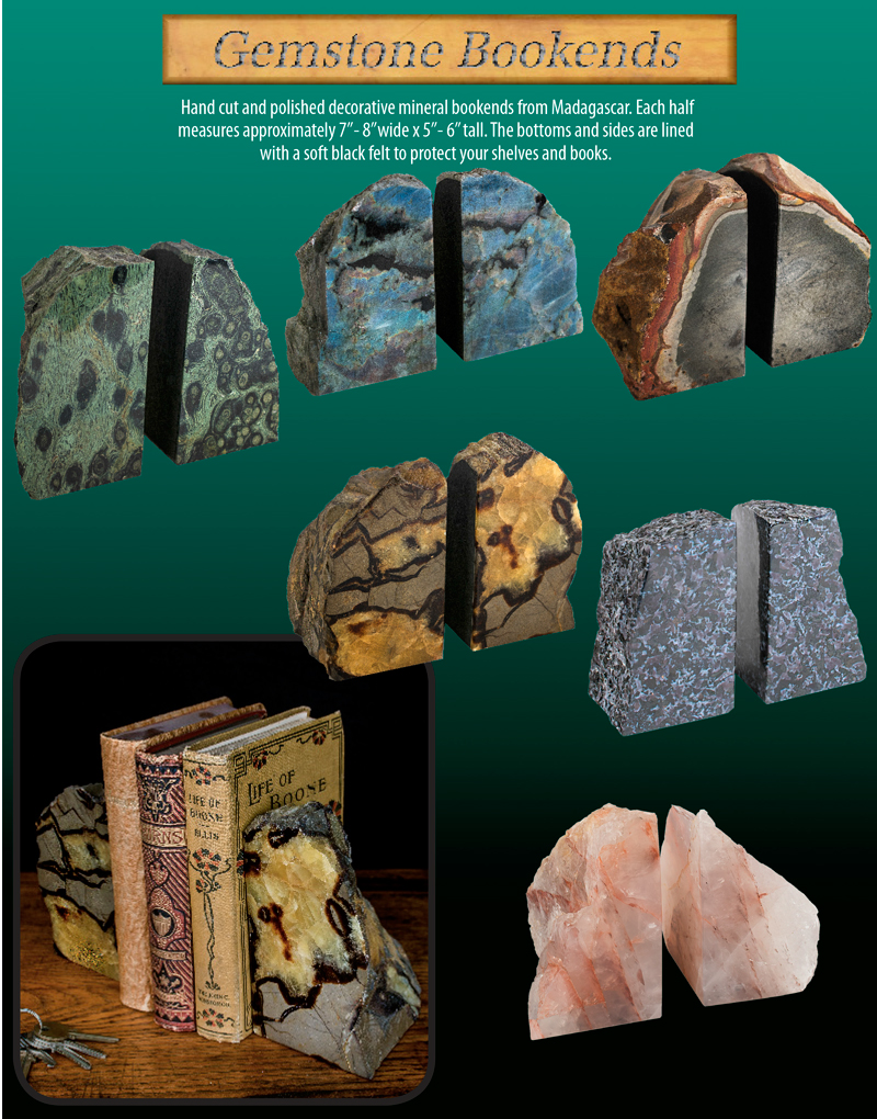 Gemstone Bookends Ad