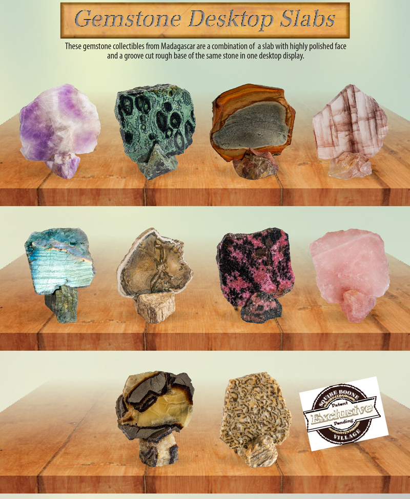 Gemstone Desktop Slabs Ad