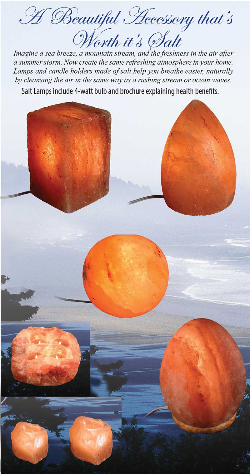 Village Originals Salt Lamps : Salt Lamps - Squire Boone Village Products - Bloom Brothers, Candy, Carved Wood, Gift, Souvenir ...
