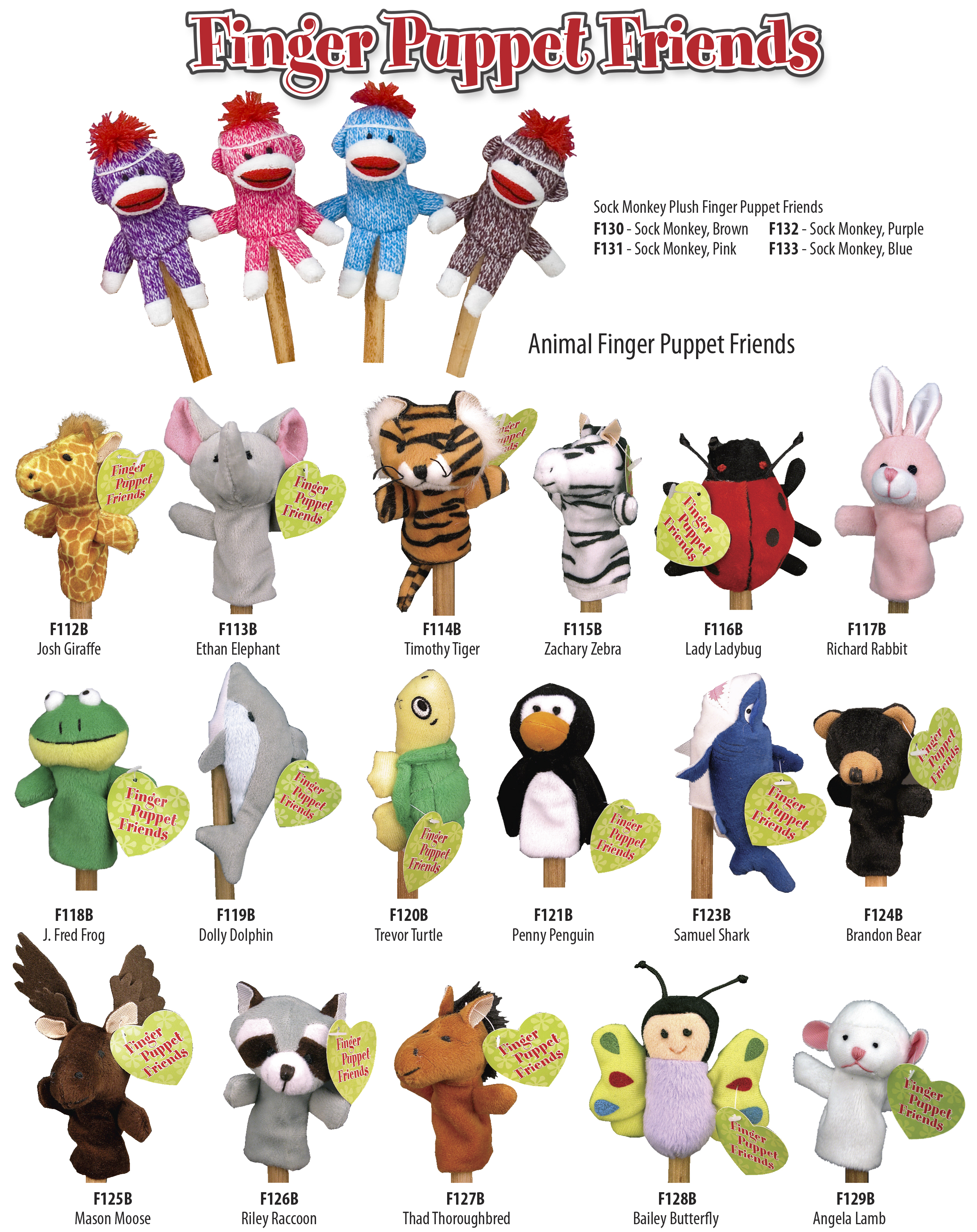 Finger Puppet Friends Ad