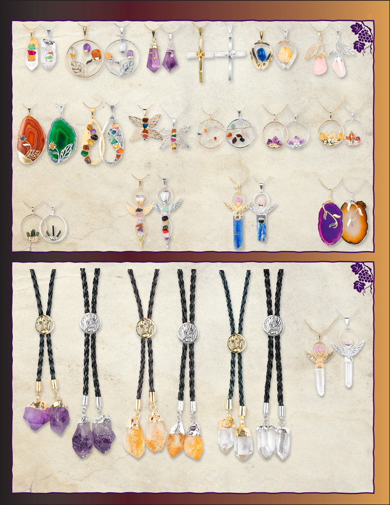 Grapevine Jewelry Displays - Squire Boone Village Products