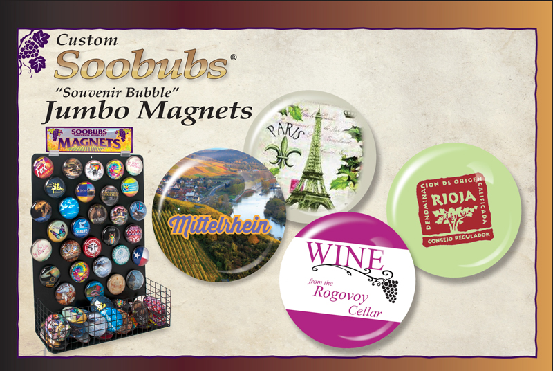 Winery SOOBUBS® Jumbo Magnets Ad