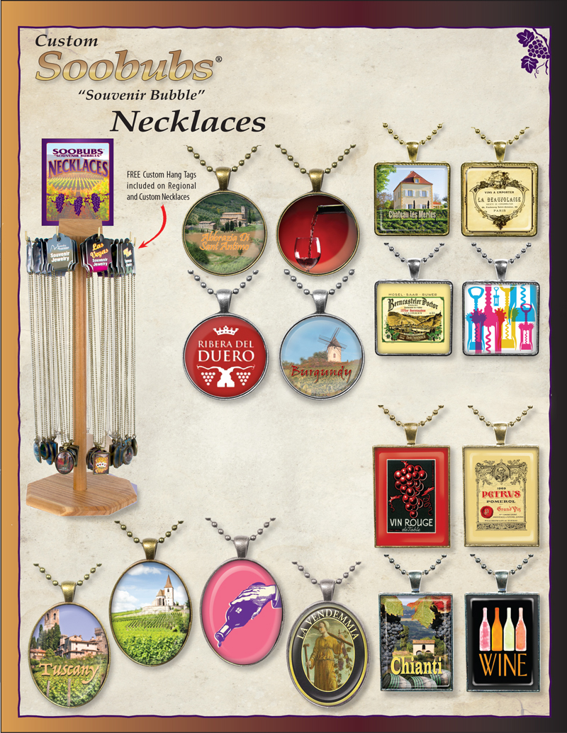 Winery SOOBUBS® Necklaces Ad