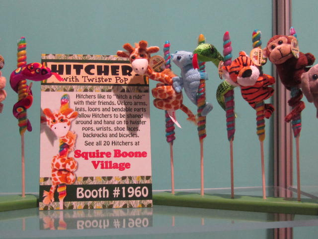 Squire Boone Village Hitchers in the New Products Showcase at NCA Sweets and Snacks Expo