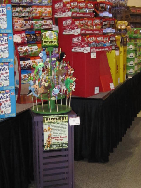 Squire Boone Village Hitchers in the Merchandising Display Gallery at NCA Sweets and Snacks Expo