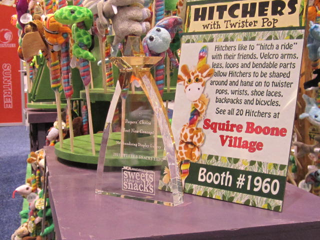 Hitchers win Buyer's Choice Award at NCA Sweets and Snacks Expo